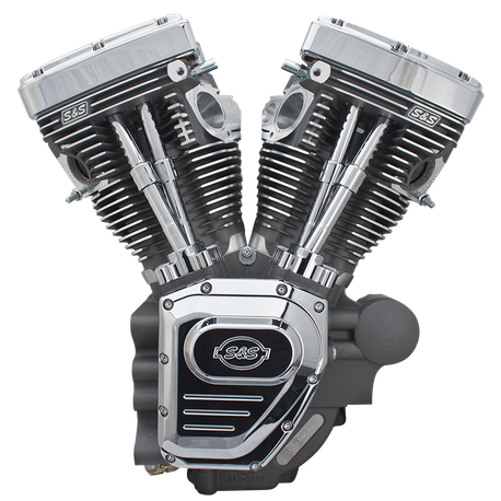 T143 Engine for 2007-Up Touring  Models - Stone Gray