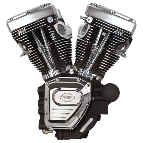 T143 Engine for 2007-Up Touring Models - Wrinkle Black