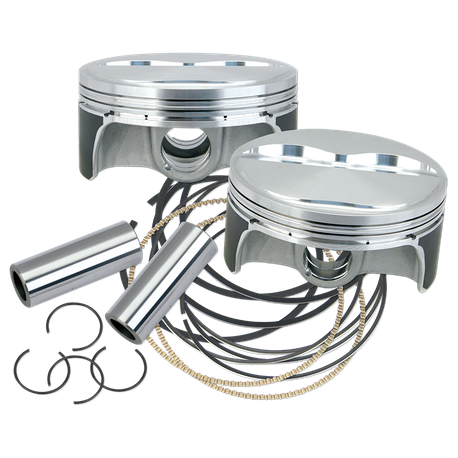 S&S<sup>®</sup> Forged Piston Sets for S&S<sup>®</sup> X-Wedge<sup>®</sup> Engines - Standard 128""