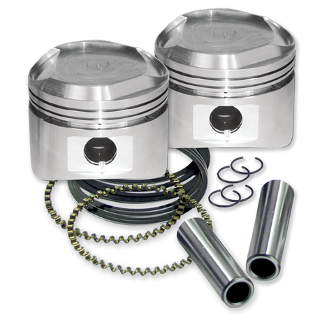"80"" Pistons for 1984-'99 HD<sup>®</sup> Big Twins W/ Super Stock Heads - Standard - +.010"""