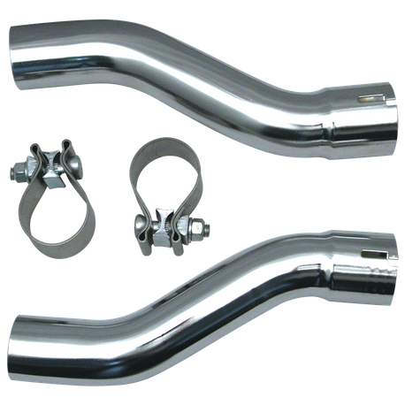 Pipe Extension Adaptor Kit for 2009-'16 HD<sup>®</sup> Tri Glide<sup>®</sup> Models - Chrome