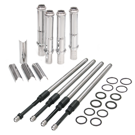 Quickee Adjustable Pushrods for 1999-'15 big twins w/ stock engine height +/- .050""