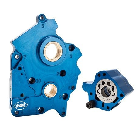 Oil Pump and Cam Plate Kit for 2017-19 M8 Oil Cooled Models.