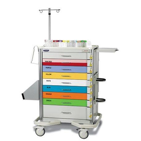 Premier Aluminum Broselow Colorcode Carts Armstrong Medical