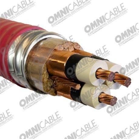 2 4kv Ccw Armored Power Nonshielded 3 C Vfd Cable