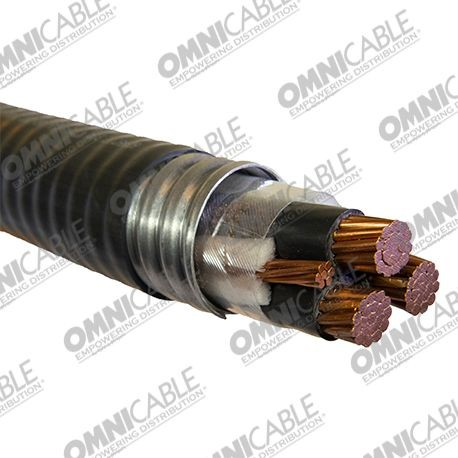 600 Volt Type Mc 4 Conductor Cable Aiy1 1395 Omni Cable