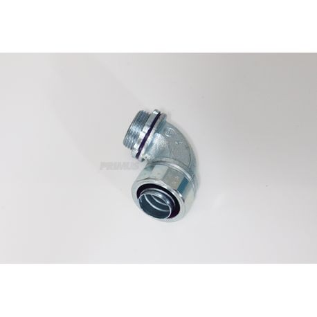 1 IN. Liquid Tight 90° Connector, Resuable Fittings