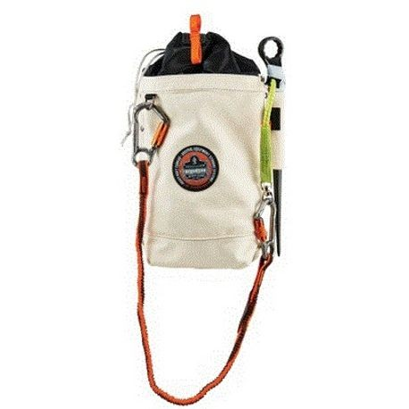 10 IN. x 5 IN. x 13 IN. SAFETY BOLT BAG, TALL, WHITE