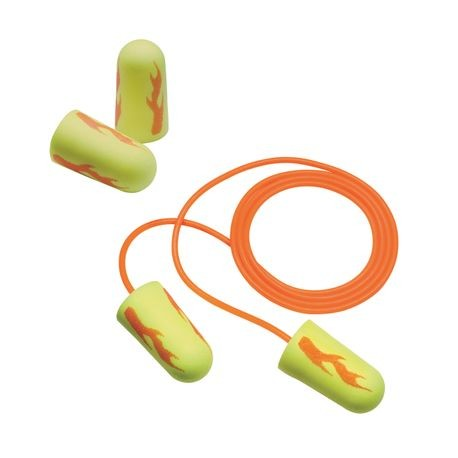 3M™ E-A-Rsoft™ 311-1252 Yellow Neon Blasts™ Earplugs
