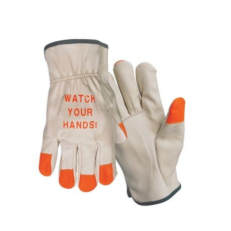 Cordova™ 4880FL/XL Hi-Viz Leather Driver's Gloves