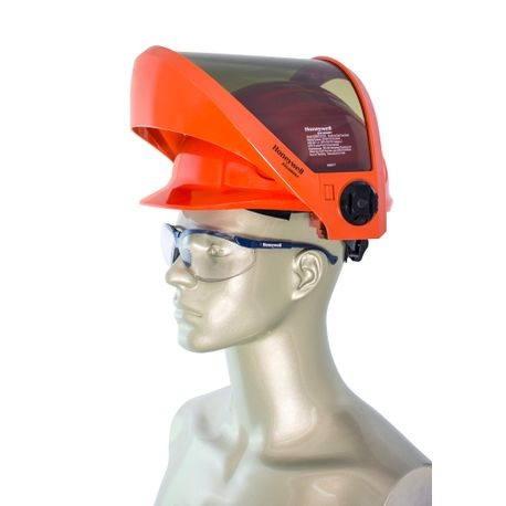 Honeywell Salisbury AS2000HAT-SPL Arc Flash Faceshield with Hard Hat with PrismShield™ and North Zone Hard Hat