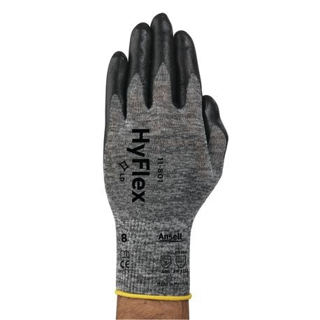 Ansell® HyFlex® 11-801/6 Light-Duty Multi-Purpose Coated Gloves