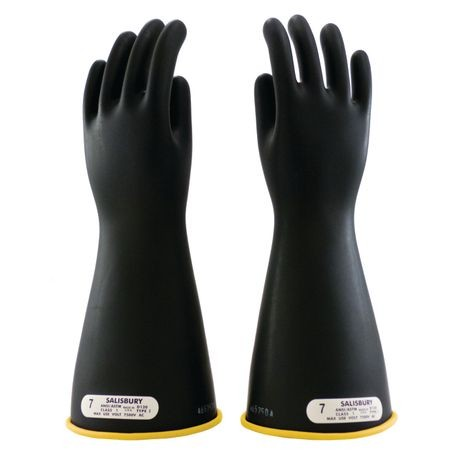 Honeywell Salisbury E-114YB/7 Rubber Insulating Gloves