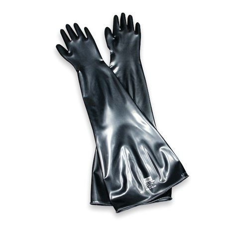 Honeywell North® 8B-1532/9Q Butyl™ Glovebox Chemical-Resistant Gloves