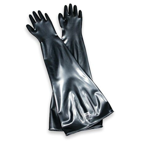 Honeywell North® 8N-1532A Neoprene Glovebox Chemical-Resistant Gloves