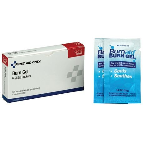 First Aid Only® 13-010 Burn Gel Packets