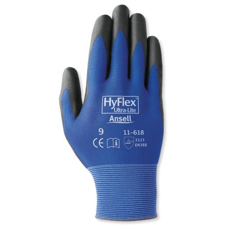 Ansell® HyFlex® 11-618/8 Ultra-Light Coated Gloves