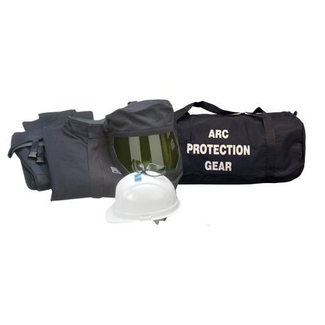Chicago Protective Apparel AG32-NG/L 32 Cal Arc Flash Protection Jacket and Bib Kit