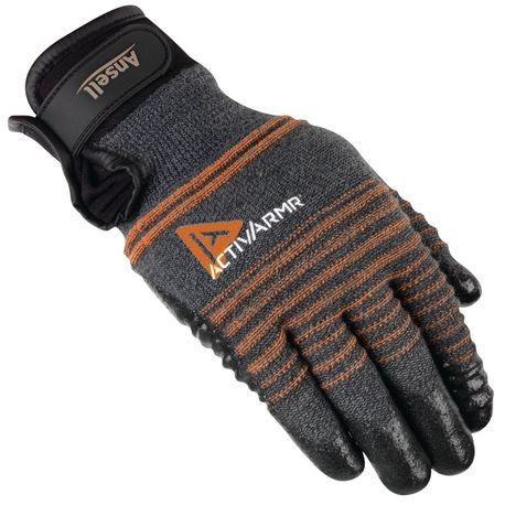 Ansell® ActivArmr® 97-009/L Multi-Purpose Coated Cut-Resistant Gloves