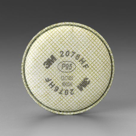 3M™ 2076HF P95/HF Particulate Filter/Hydrogen Fluoride Respiratory Protection with Nuisance Level Acid Gas Relief