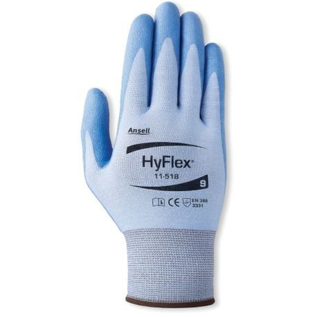 Ansell® HyFlex® 11-518/11 First-To-Market Ultralight Coated Cut-Resistant Gloves