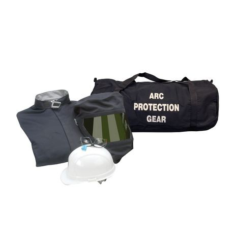 Chicago Protective Apparel AG43-CV-NG/XL 43 Cal Arc Flash Protection Coveralls Kit