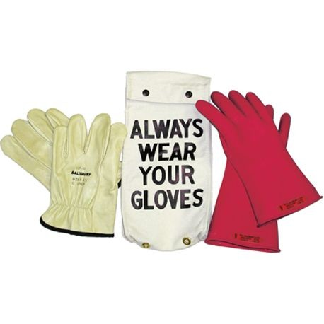 Honeywell Salisbury GK-011R Rubber Insulating Glove Kits