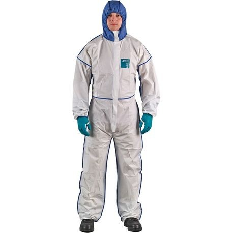Ansell MICROCHEM® by AlphaTec™ 68-1800C/2XL Comfort Series Coveralls