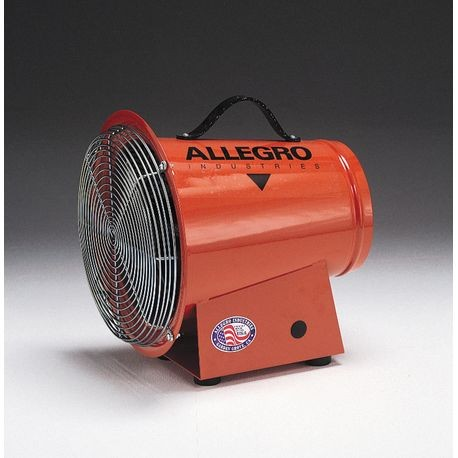 "Allegro® 8"" AC/DC Axial Blowers with Canisters"
