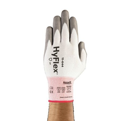 Ansell® HyFlex® 11-644/11 Coated Gloves with Ansell Cut Protection Technology™