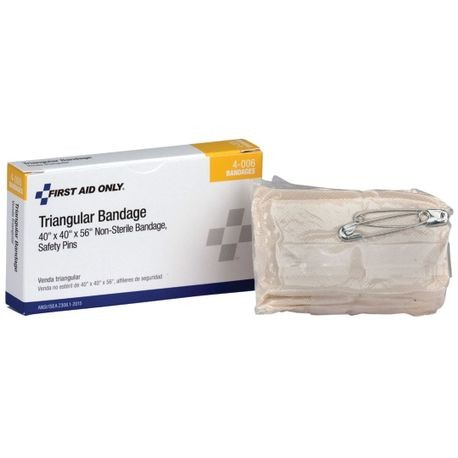 First Aid Only® 4-006 Triangular Bandage