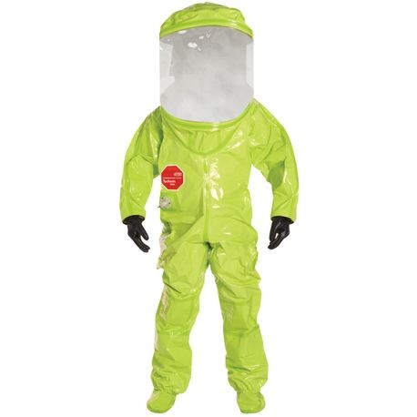 DuPont™ Tychem® 10000 TK-555TLY/XL Level A Suit