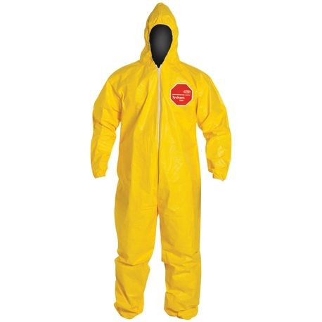 DuPont™ Tychem® 2000 QC-127SYL/L Coveralls