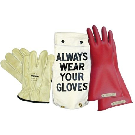 Honeywell Salisbury GK-0011R/11 Rubber Insulating Glove Kit