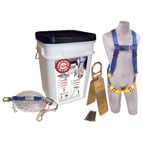 3M™ PROTECTA® 2199815 Compliance in a Can™ Roofer's Fall Protection Kit