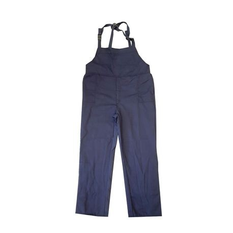 Chicago Protective Apparel SWB-12/M 12 Cal Arc Flash Protection Bib Overalls