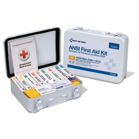 First Aid Only® 90-568 25-Person Unitized First Aid Kit
