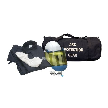 Chicago Protective Apparel AG8-JP-NG/S 8 Cal Arc Flash Protection Jacket and Pants Kit