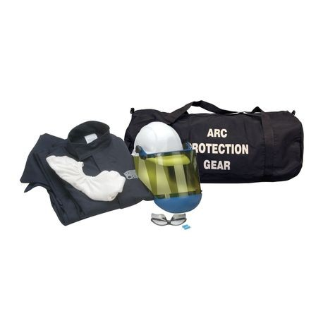 Chicago Protective Apparel AG12-JP-NG/M 12 Cal Arc Flash Protection Jacket and Pants Kit