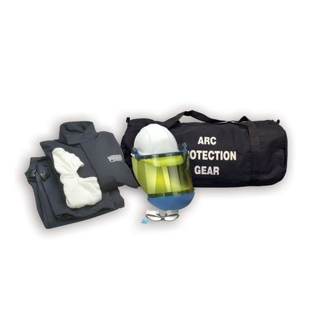 Chicago Protective Apparel AG8-NG/M 8 Cal Arc Flash Protection Jacket and Bib Kit