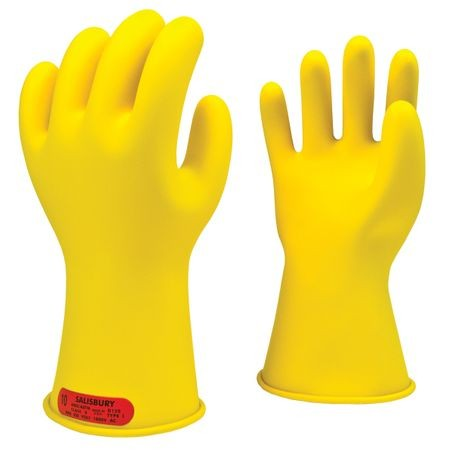Honeywell Salisbury E-011Y/10 Rubber Insulating Gloves