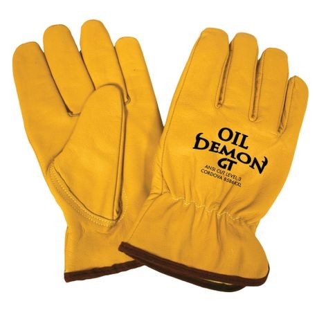 Cordova™ Oil Demon GT™ 8586K/XL Oil/Cut-Resistant Leather Driver's Gloves