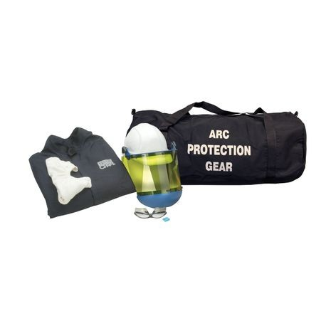 Chicago Protective Apparel AG12-CV-NG/3XL 12 Cal Arc Flash Protection Coveralls Kit