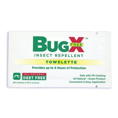 CoreTex® BugX® Free Insect Repellent Towelettes