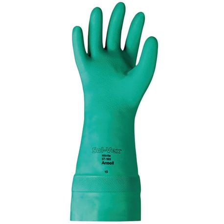 Ansell® Solvex® 37-165/11 Nitrile Immersion Chemical-Resistant Gloves