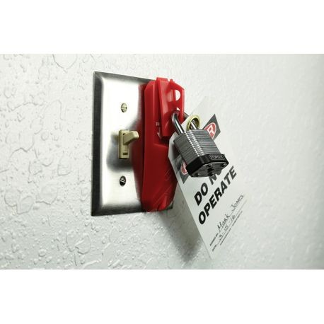 Accuform® STOPOUT® KDD139 Universal Blockout Wall Switch Cover