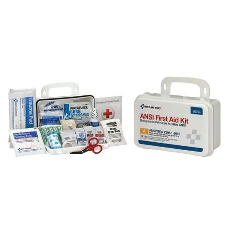 First Aid Only® ANSI A, Type III 10-Person First Aid Kits