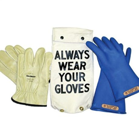 Honeywell Salisbury GK-0011BL/10H Rubber Insulating Glove Kit