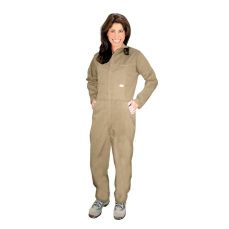Chicago Protective Apparel 605USK/3XL Khaki UltraSoft® Flame-Resistant Coveralls