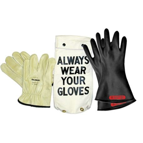 Honeywell Salisbury GK-011B/10H Rubber Insulating Glove Kit